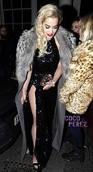 Рита Ора в наряде от Alex Vauthier с юбкой из перьев-rita-ora-black-sequined-dress-leaving-brits-after-party__opt-jpg