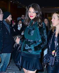 Кэти Холмс, Линдси Лохан, Майли Сайрус и другие на Z100's Jingle Ball в Нью-Йорке-z100s-jingle-ball-4-jpg